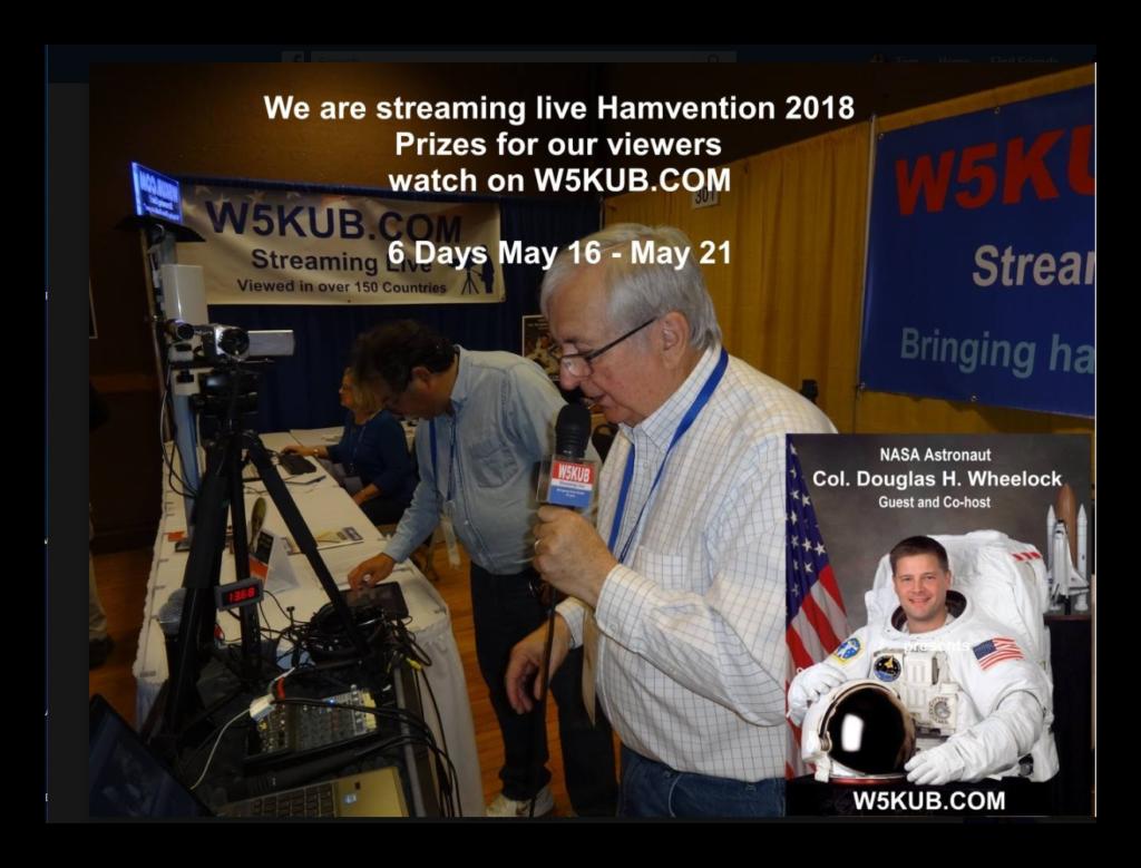 Amateur Radio Roundtable May 15, 2018 – W5KUB COM